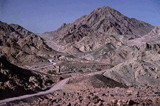 The view of mount sinai