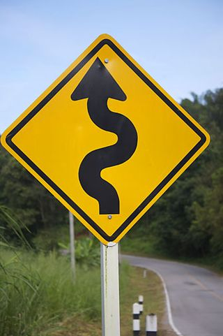Windy-road-sign