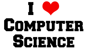 I Love Computer Science Logo