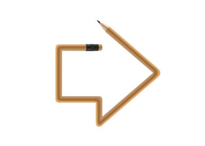 Pencil Arrow Small