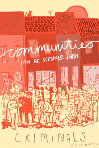 Communities Can Be Stronger Than Criminals