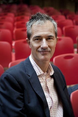 Geoff Dyer Portrait by Stephanie Wolff