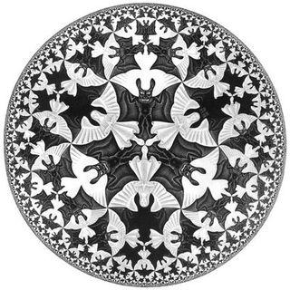 M C Escher's Circle IV