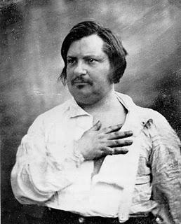 Balzac by Nadar, 1840