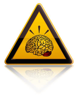 Warning Healthy Brain
