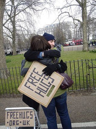 Free Hugs Hyde Park