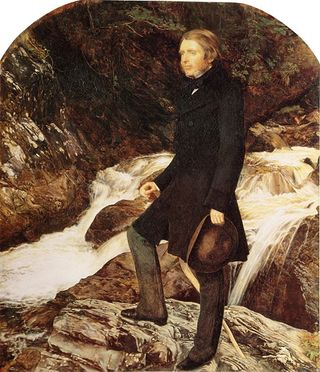 Ruskin by Millais