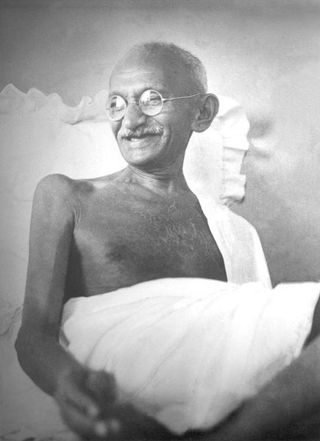 Curry with Gandhi